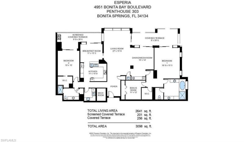 4951 Bonita Bay Blvd #ph303, Bonita Springs, Fl 34134