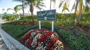 For Sale in ROYAL VILLAS Naples FL