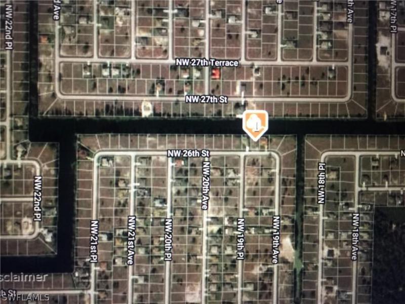 1907 Nw 26th Street, Cape Coral, Fl 33993