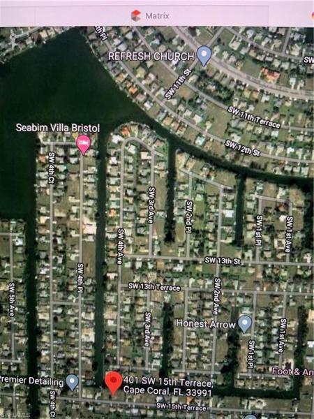 401 Sw 15th Terrace, Cape Coral, Fl 33991