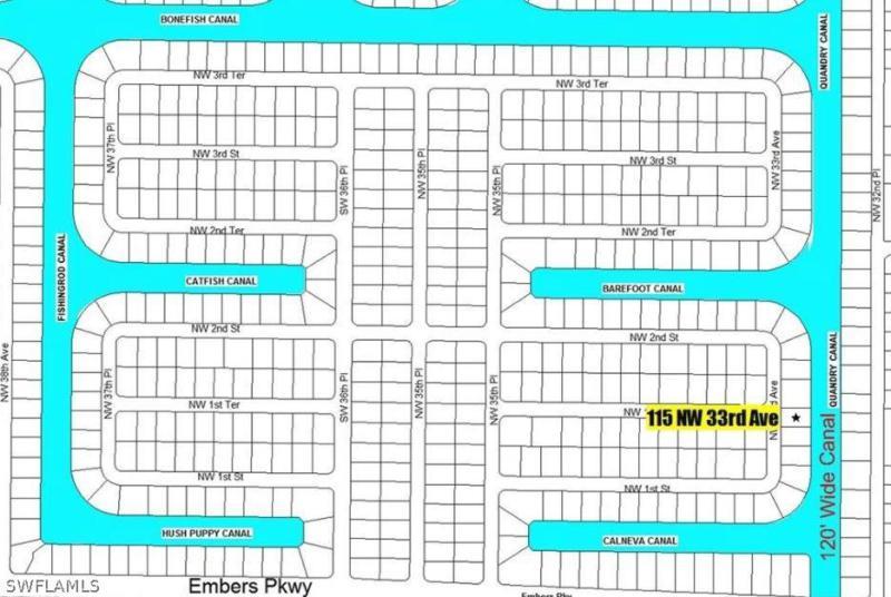 115 Nw 33rd Avenue, Cape Coral, Fl 33993