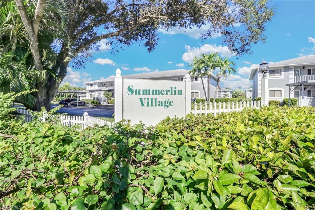 For Sale in SUMMERLIN VILLAGE CONDO FORT MYERS FL