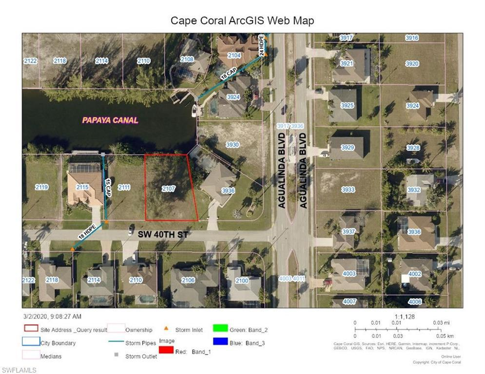 2107 Sw 40th Street, Cape Coral, Fl 33914