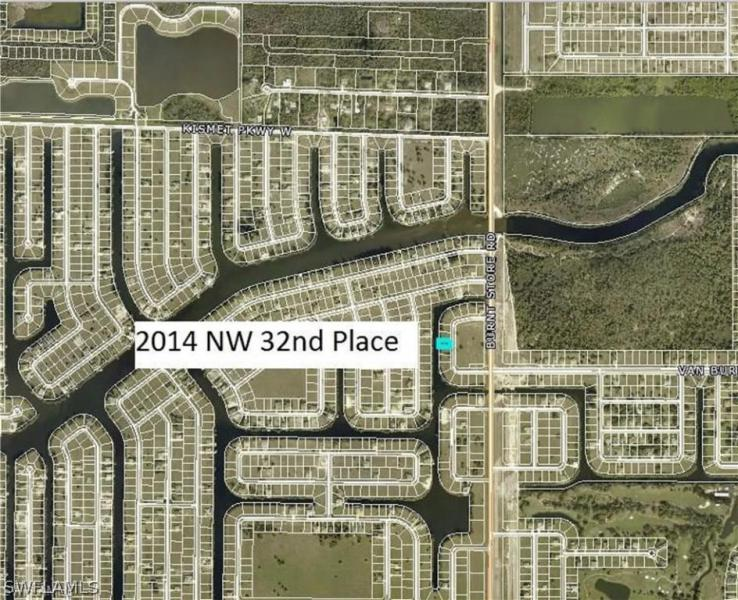 2014 32nd Court NW, CAPE CORAL, FL  33993 $109,000
