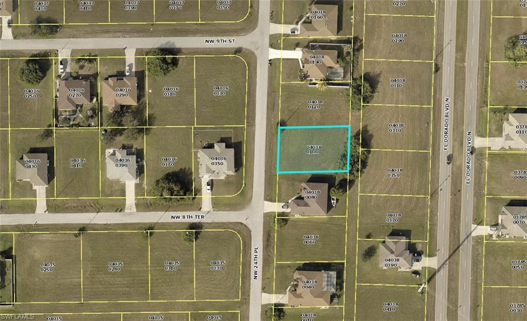 819 Nw 24th Place, Cape Coral, Fl 33993