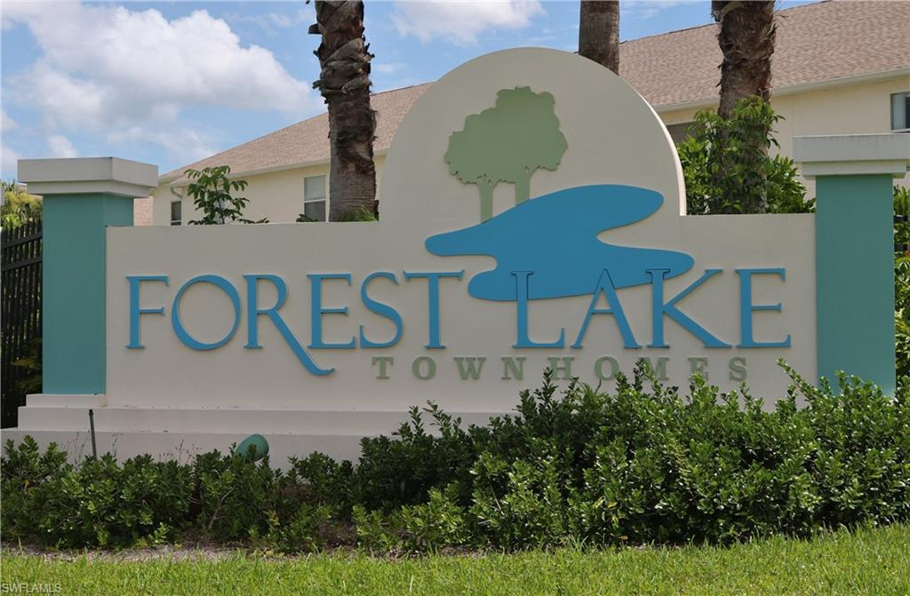 For Sale in FOREST LAKE TOWNHOMES FORT MYERS FL