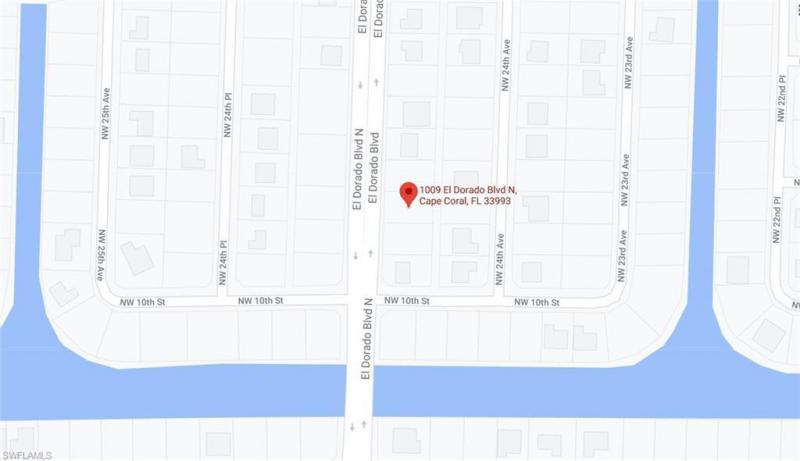 1009 El Dorado Boulevard, Cape Coral, Fl 33993