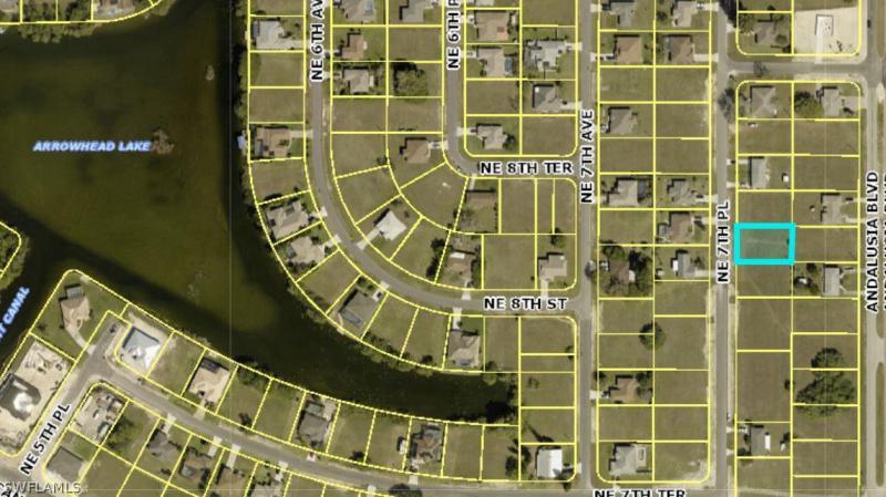 805 Ne 7th Place, Cape Coral, Fl 33909