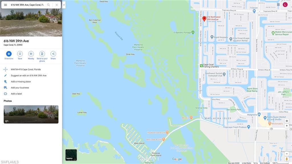 616 Nw 39th Avenue, Cape Coral, Fl 33993