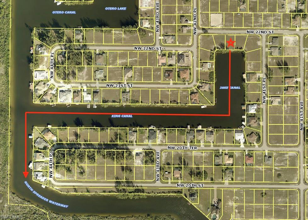 4128 Nw 22nd Street, Cape Coral, Fl 33993