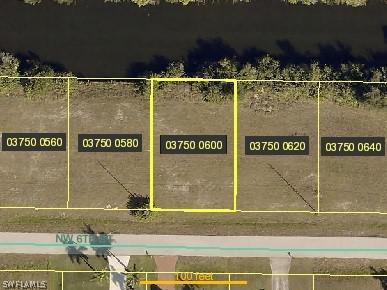 2037 Nw 6th Street, Cape Coral, Fl 33993