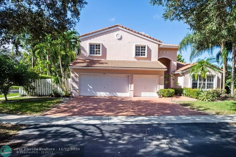 First Photo for Home For Sale at 815 NW 130th Ter Sunrise, FL. 33325